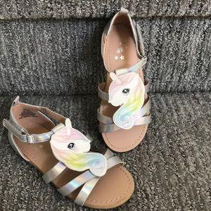 H\u0026M Shoes   Girls H M Unicorn Sandals